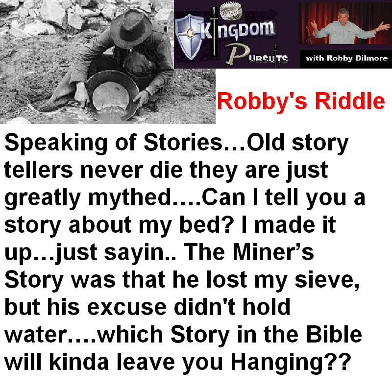 Robby's Riddles | Kingdom Pursuits
