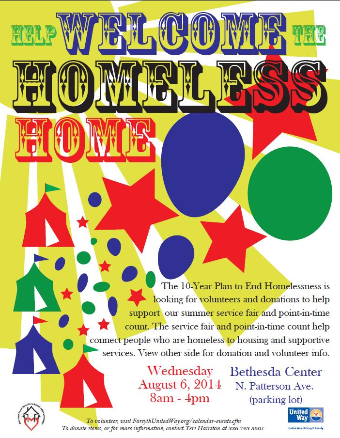 Help Welcome The Homeless  Home