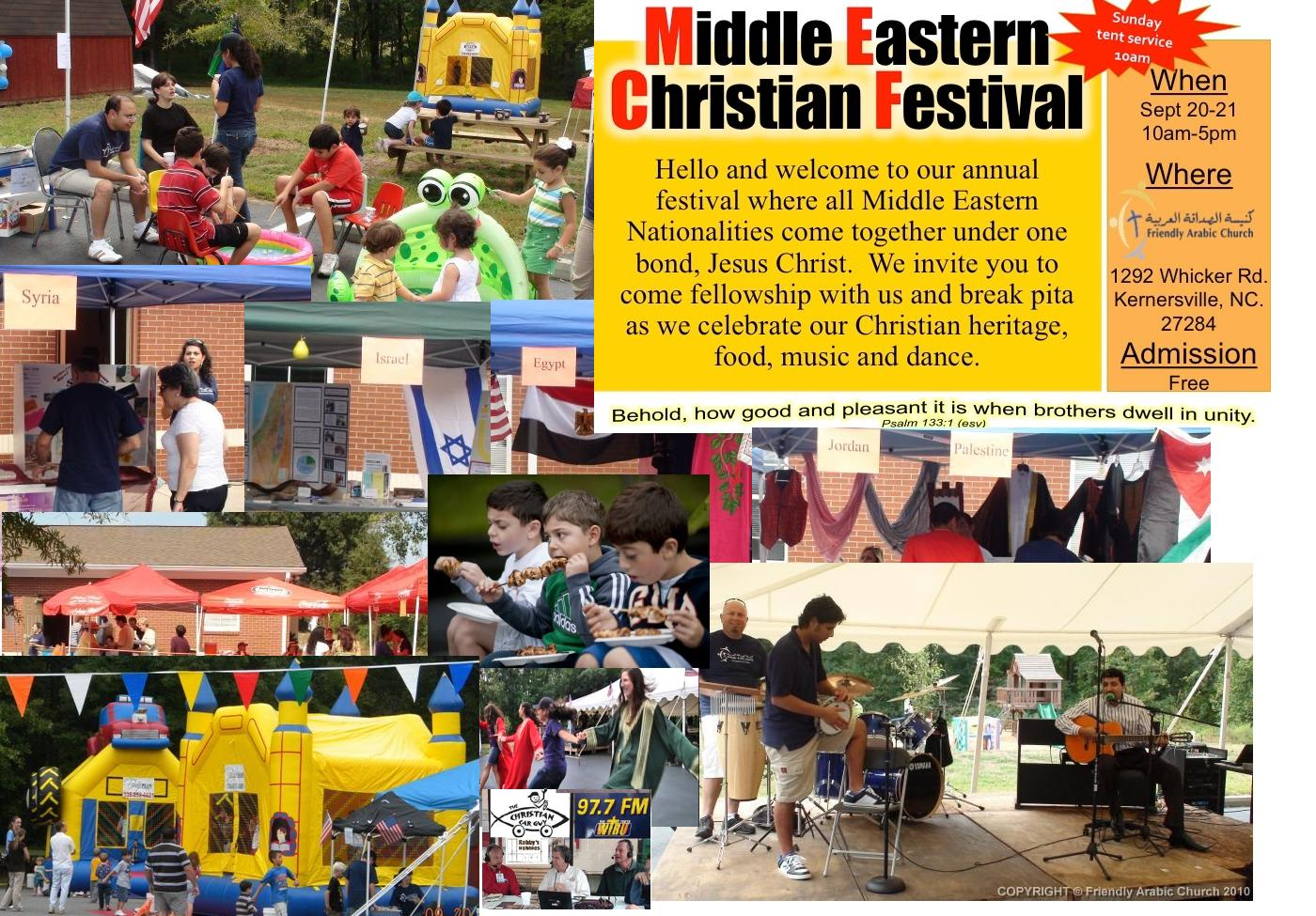 """Live Today From Middle Eastern Christian Festival """"Kernersville, NC"""""""
