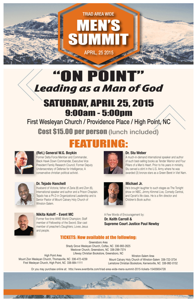 Men's Summit April 25th
