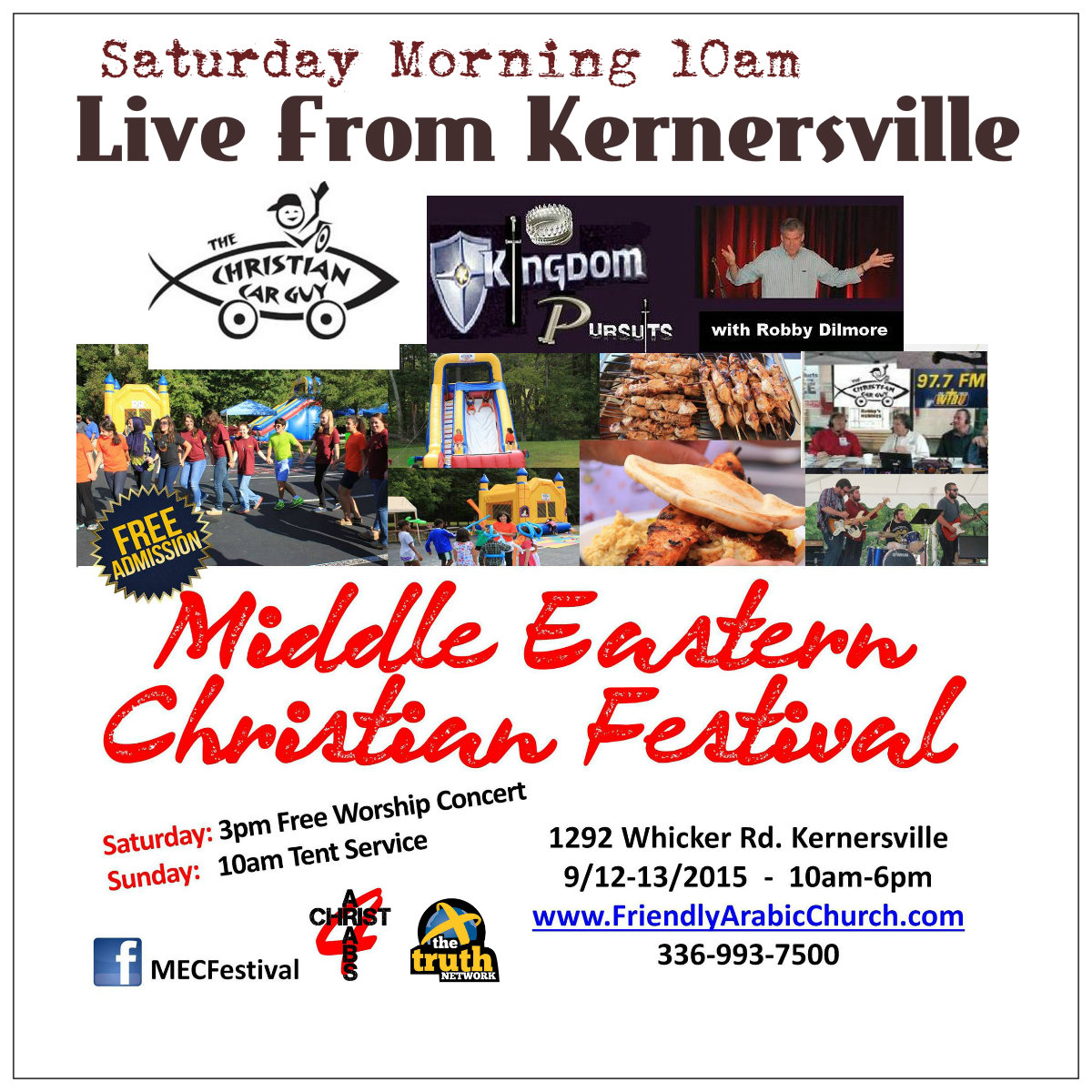 """LIVE Today From Kernersville"