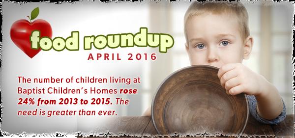 Baptist Children's Home Food Round UP