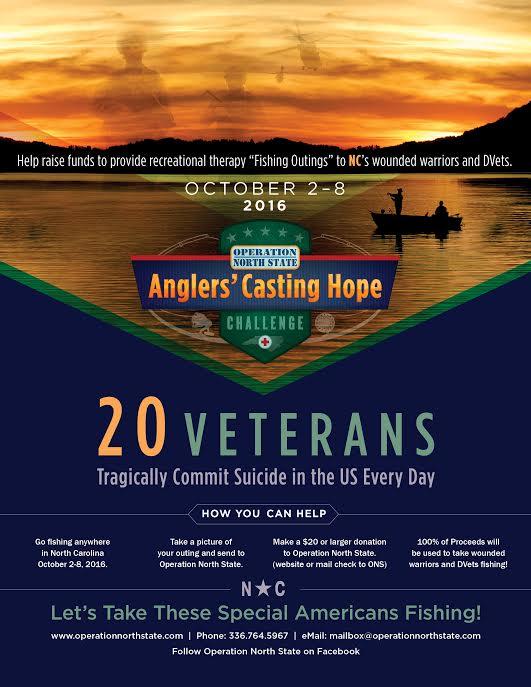Anglers' Casting Hope Challenge