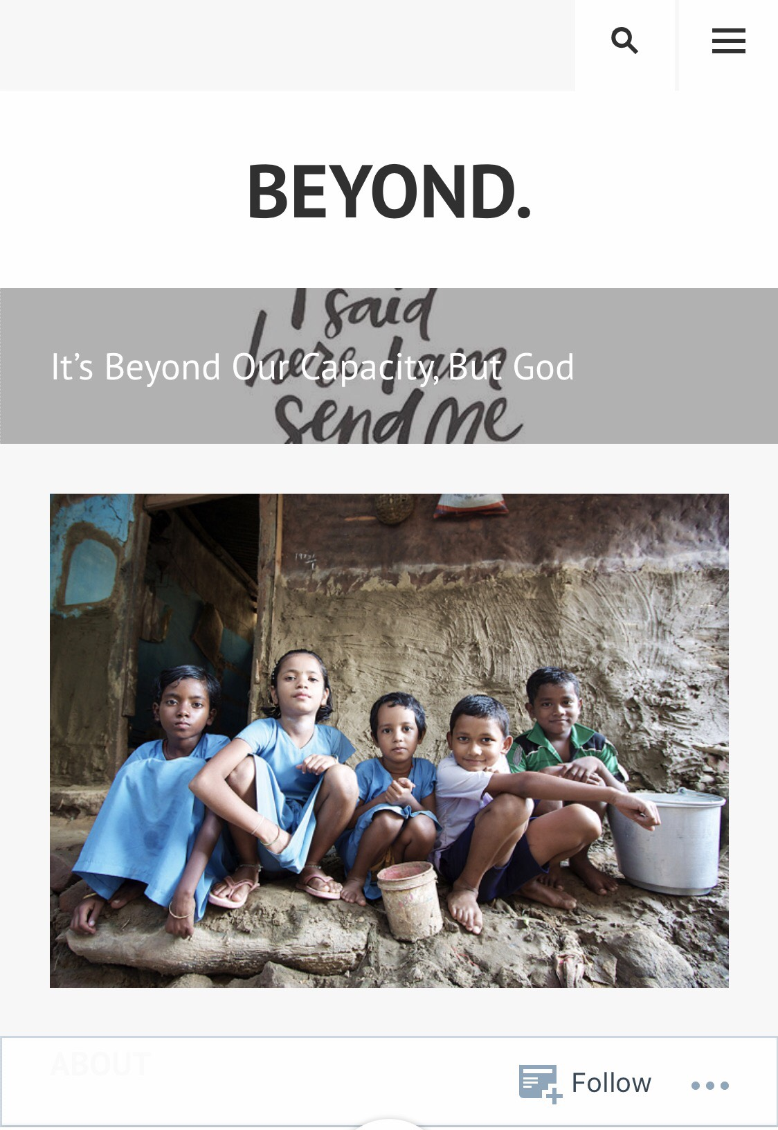 'Beyond My Capacity' My Daughter On Mission To Thailand