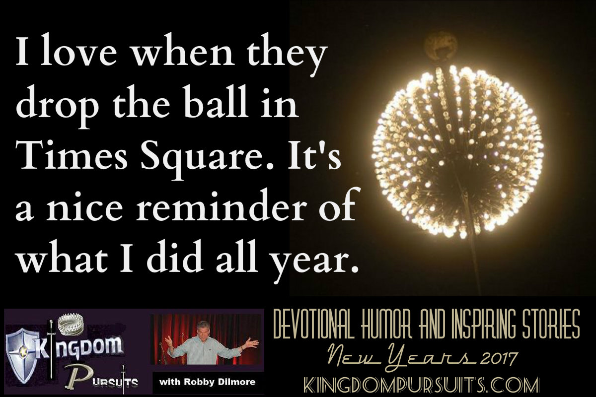 Devotional Humor and Inspiring Stories New Years 2017