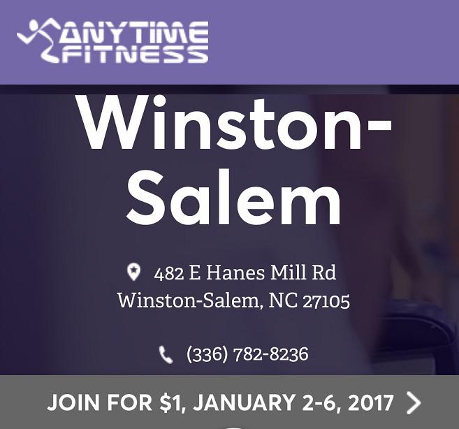 Anytime Fitness 482 Hanes Mill Rd in Winston Salem
