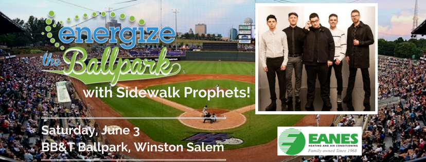 Energize The BallPark with Sidewalk Prophets