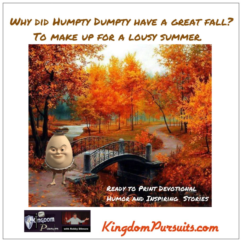 Devotional Humor & Inspiring Stories For October 17, 2019