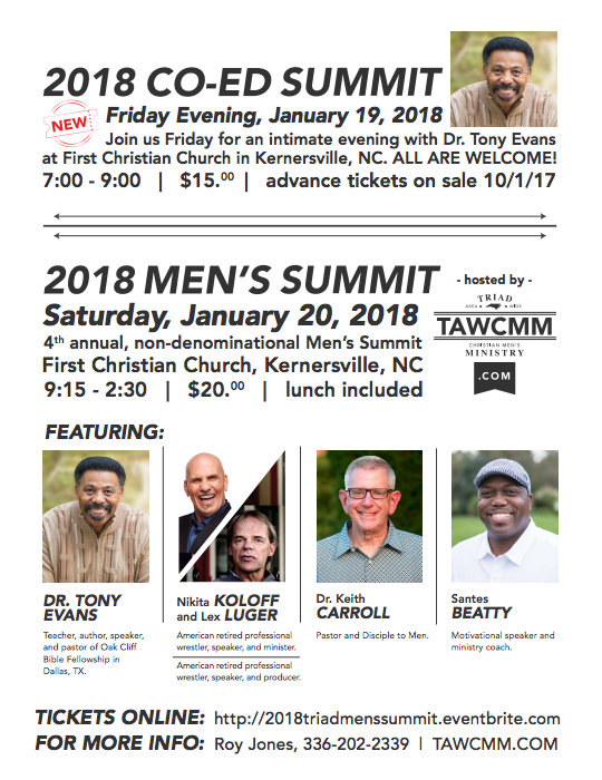 Summit Weekend With Tony Evans