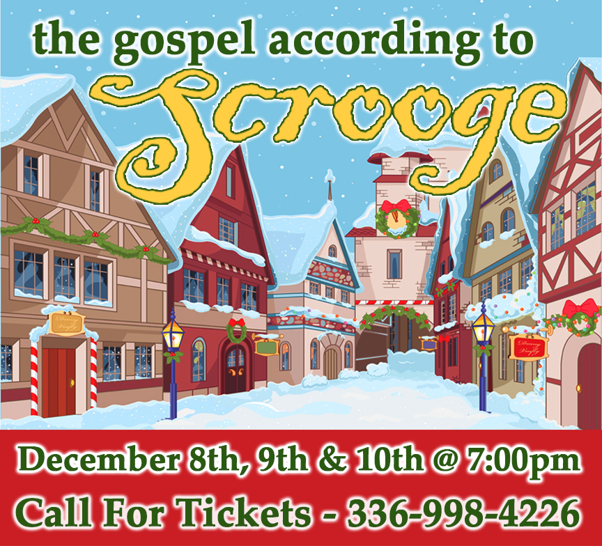 """The Gospel According to Scrooge"""