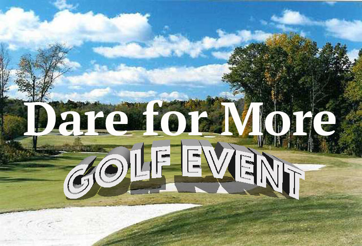 Dare For More Golf Event