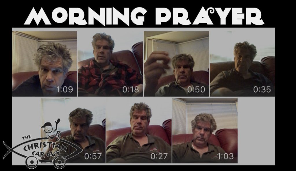 Robby's Morning Prayer