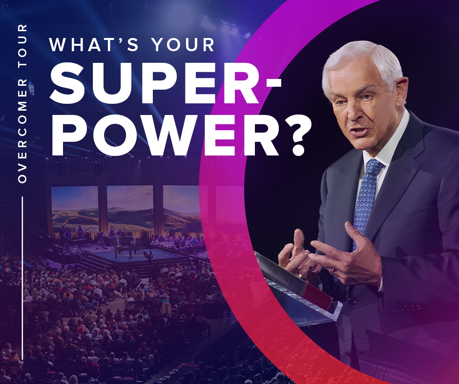 The Overcomer Tour – Join Me…Dr. David Jeremiah Coming to Raleigh Thursday Oct 11th