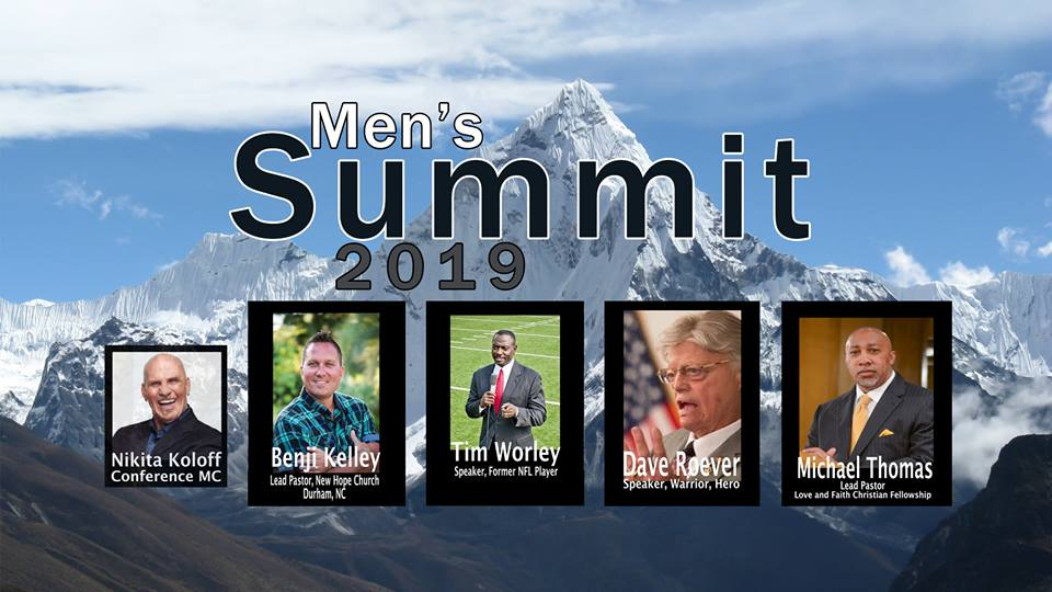5th Annual Men's Summit Coming January 19, 2019